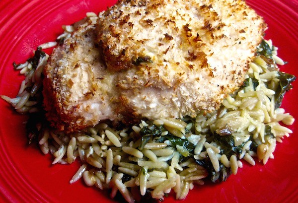 Goat Cheese & Herb Stuffed Chicken Breast