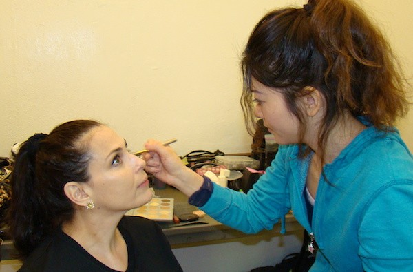 Make-up magic with Misa