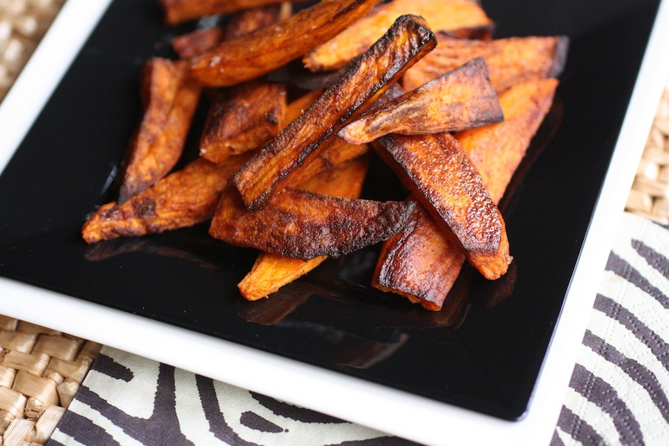 Five Spice Sweet Potatoe Fries