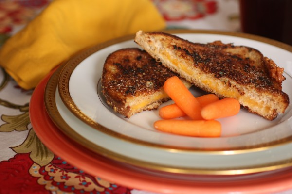 """Mum's Baked A Cake"" Grilled Cheese Sandwiches"