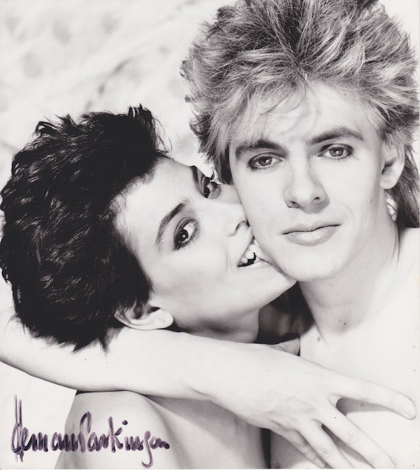 Julie Anne and Nick Rhodes