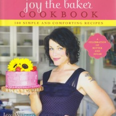 signed copy of Joy-the-Baker-Cookbook