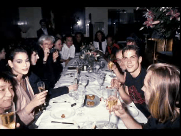 Andy Warhol's birthday at Mr. Chows in New York