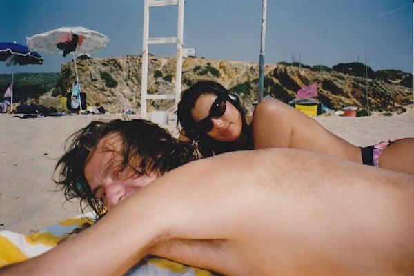 Labor Day weekends past - at the beach with an old beau