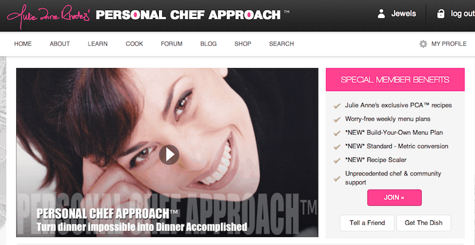 The Personal Chef Approach™ for the home cook