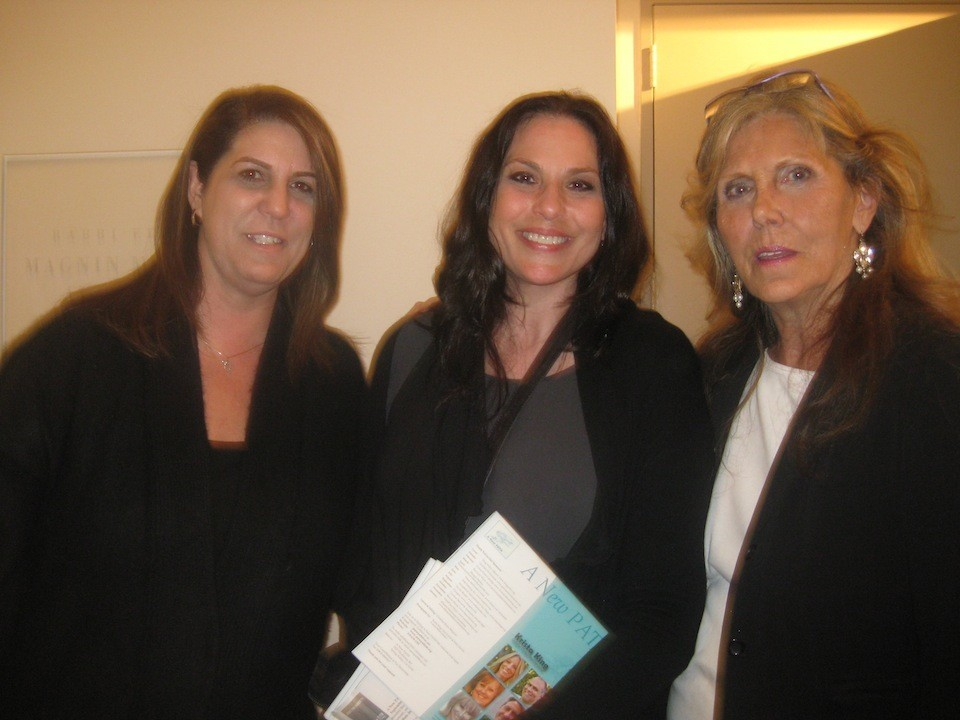 Attending the event with my girls Sheri Sussman & Julia Negron