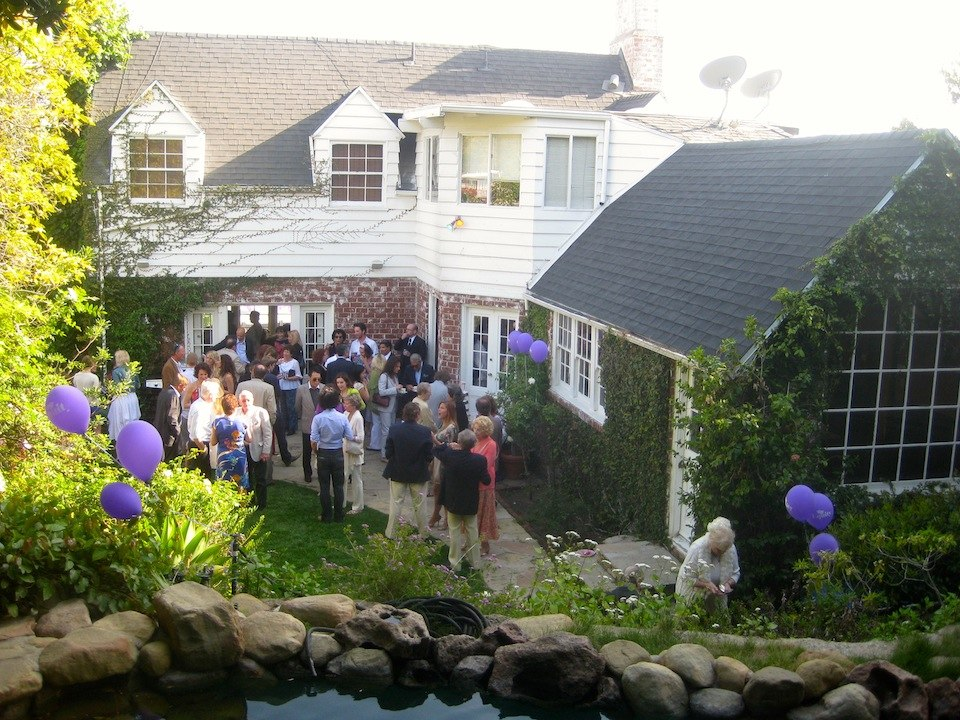 British Equity's garden party at Orson Wells House