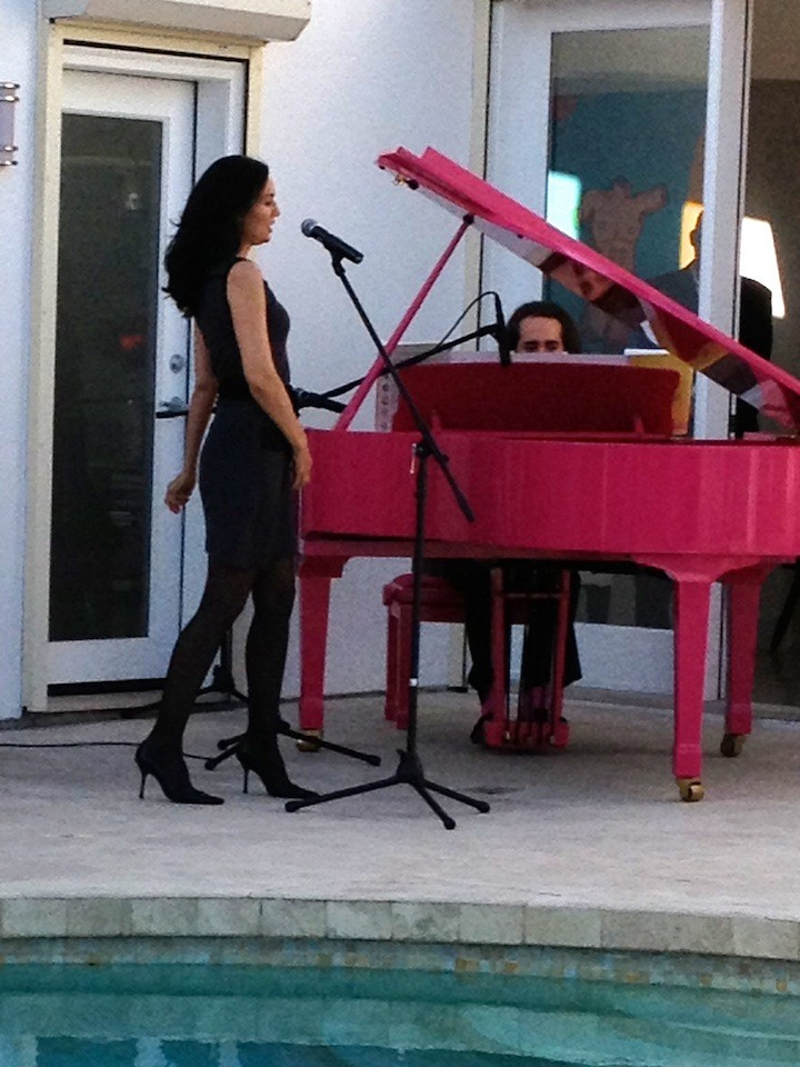 Lisa Zane & Charles Eliasch performing together