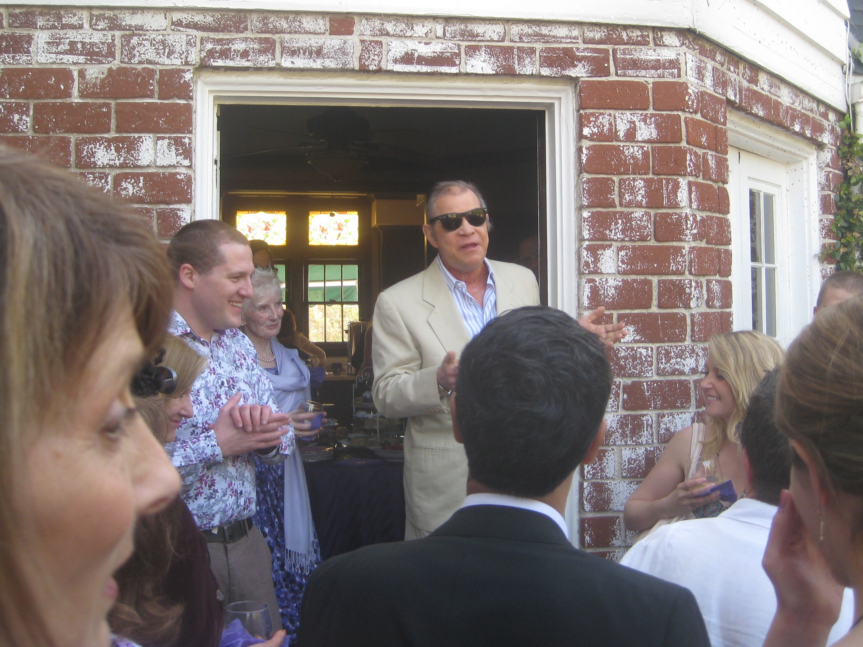 Actor Michael York had us in stitches over the story of joining Equity