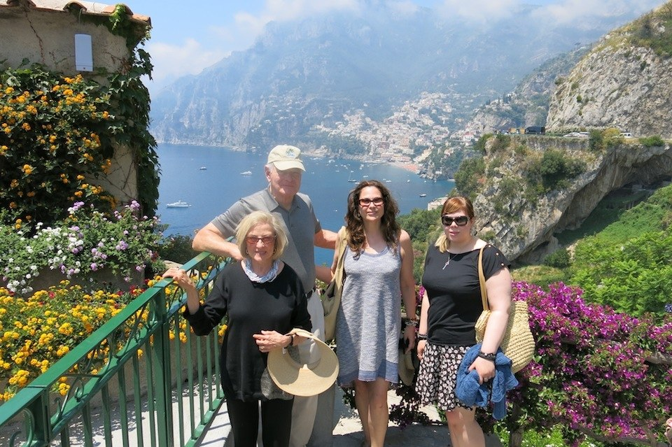 Father's Day in Positano, Italy