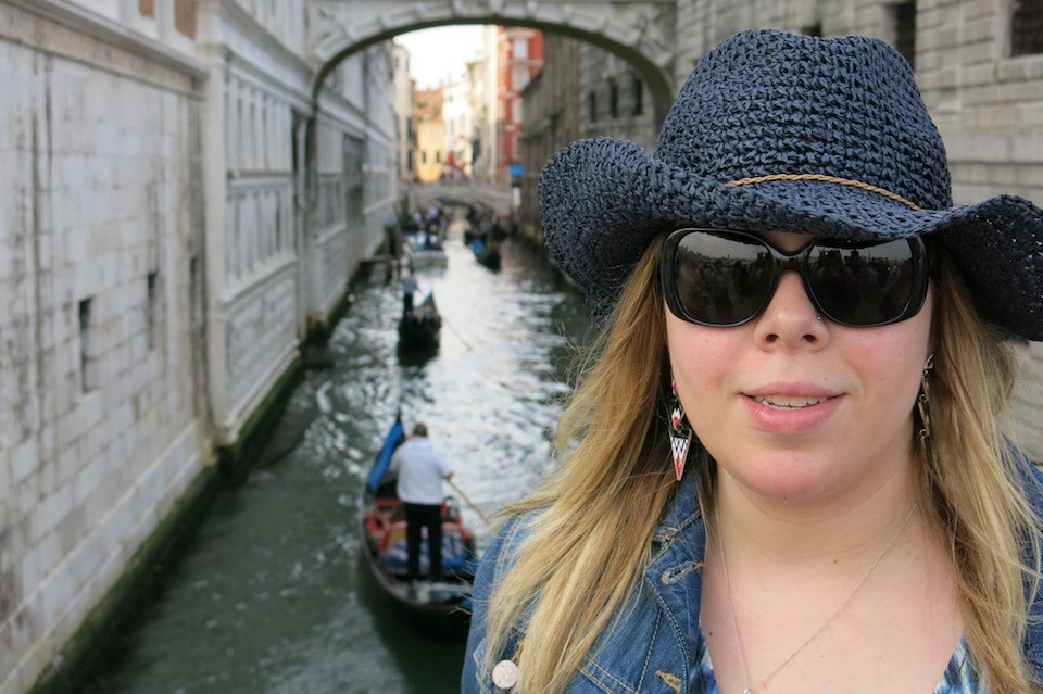 Tatjana and the gondolas