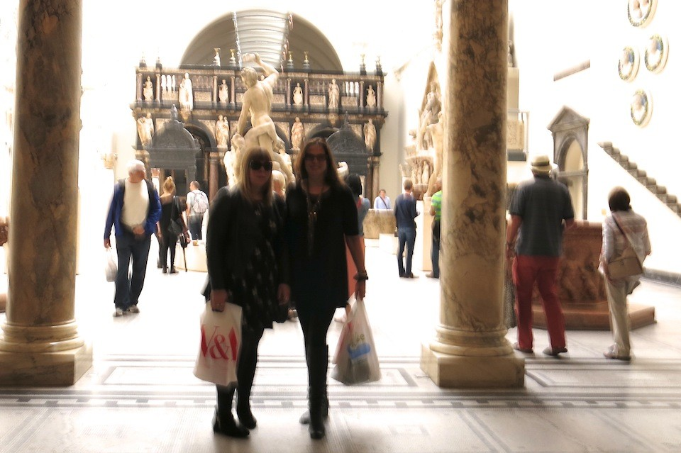 At the Victoria & Albert Museum, London