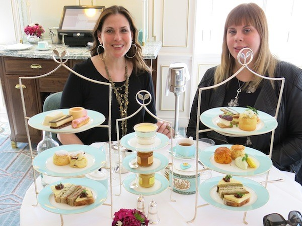 High tea (and cake) at Fortnum & Masons