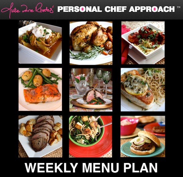 Weekly Menu Plan copy