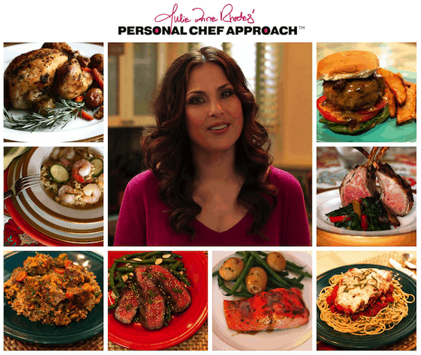 Use the Personal Chef Approach philosophy to plan, shop, and cook to cut down on food wasted