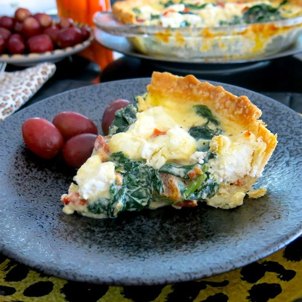 Spinach, Roasted Red Pepper, & Feta Quiche.JPG