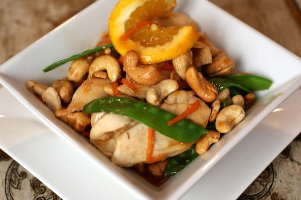 Cashew Chicken with boneless, skinless breasts