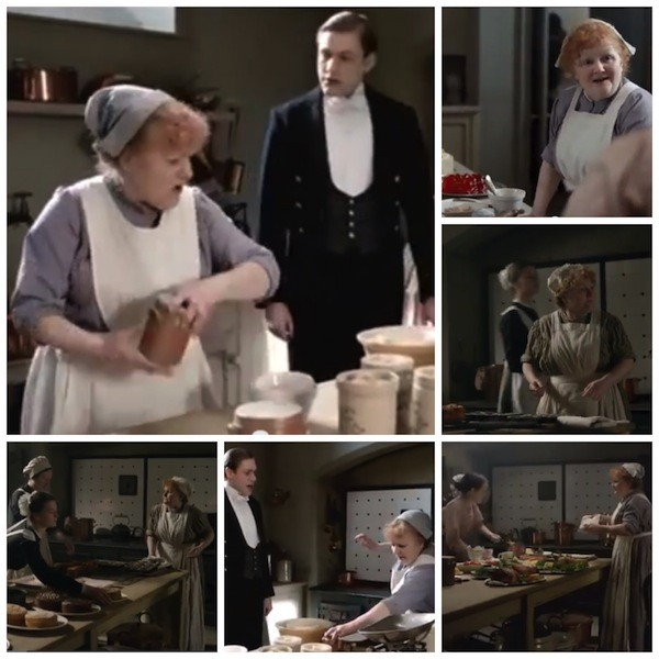 Mrs. Pattmore - her television fame could rival Gordon Ramsey's
