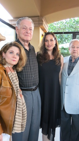 With my sister Patty, Dad, and Uncle Harlan
