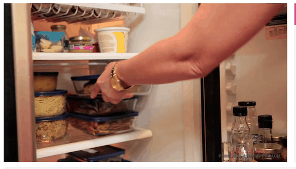 Store your food properly for optimal freshness