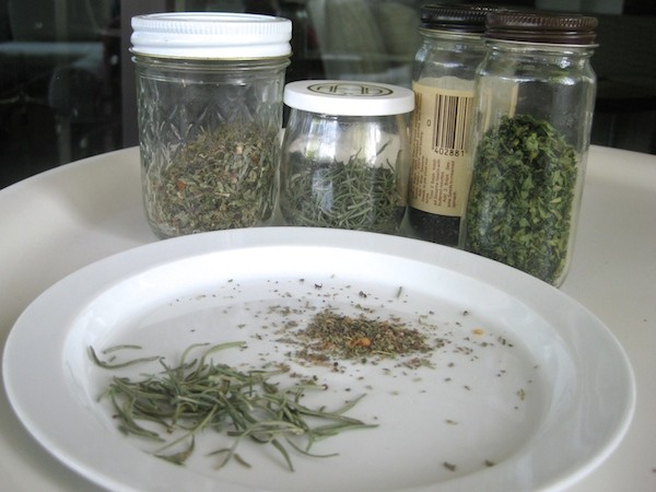 Dry vs. fresh herbs can help you save