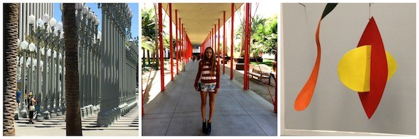 LACMA with artist Millie Brown