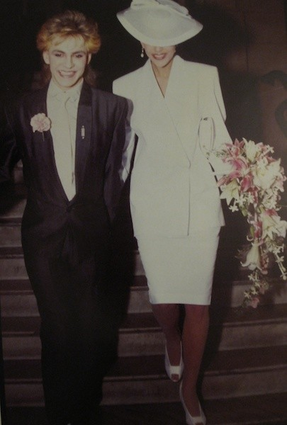 Mr. and Mrs. Nick Rhodes