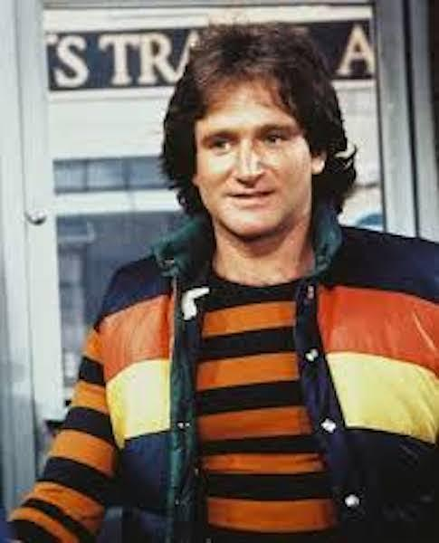 Robin Williams as Mork courtesy of Mikethefanboy.com