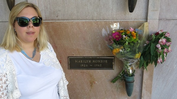 Marilyn Monroe's final resting place