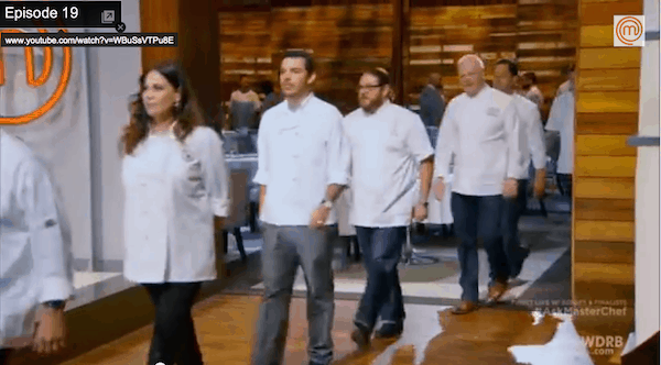 Julie Anne Rhodes is a guest judge on MasterChef