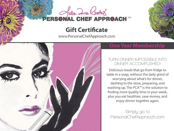 Gift Certificates available to fit every budget
