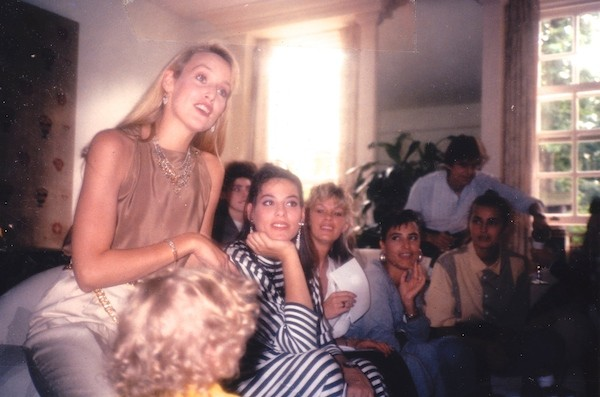 My baby shower with Jerry Hall, Amanda Kyme, Giovanna Taylor, and Yasmin LeBon