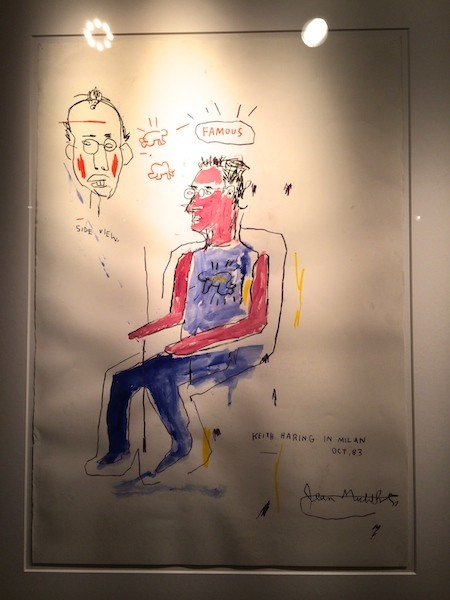 Jean Michel Basquiat of Keith Haring