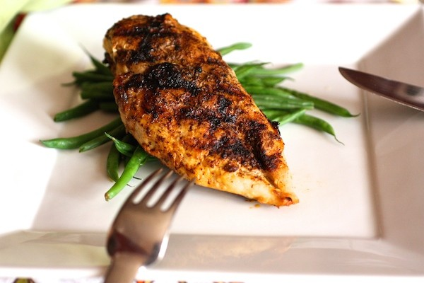 Roasted Garlic & Chili Rubbed Chicken