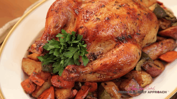 Mexican-Style Roast Chicken