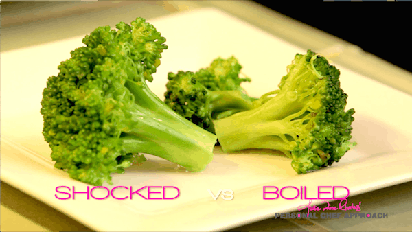 Shocked vs. boiled