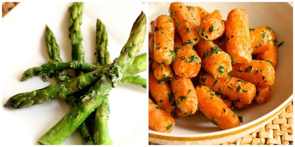 Chive Asparagus & Carrots