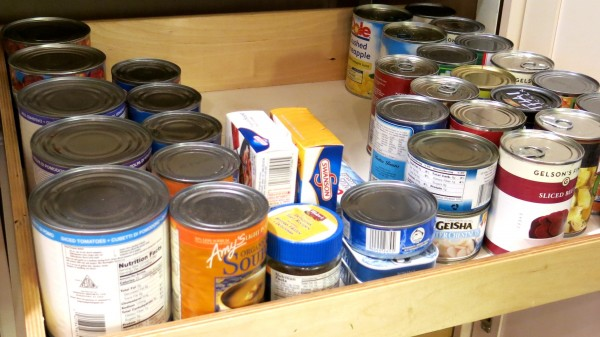 Buy canned goods in bulk