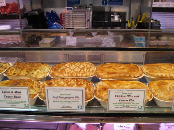 National and International award winning pies made to order in ceramic dishes...