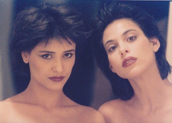Giovanna and Julie Anne back in the day by Peter Beard