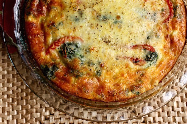 Make individual quiche so they can personalize each one